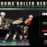 Team Oklahoma Roller Derby Mashup